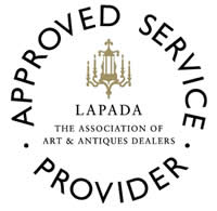 approved service provider or London and provincial Antique Dealers Association